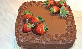 Čokoládová poleva (krém)
