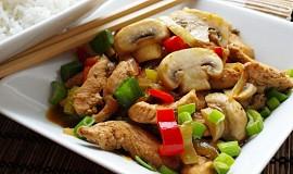 Jalapeňos nudličky z wokovy pánvičky