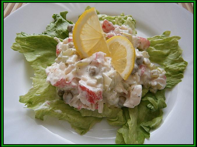 Krabí pochoutkový salát, Krabí pochoutkový salát