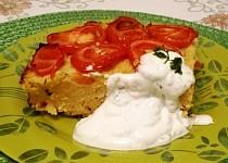Kuskus s rajčaty a jogurtovou omáčkou