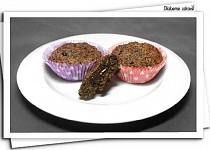 Ořechové muffinky s čokoládou