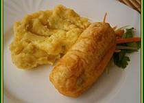 Řapíkatý celer plněný,v těstíčku smažený