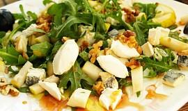 Rukolový salát pro milovníky kozích sýrů