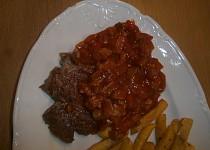 Rychlá kečupovomasová omáčka
