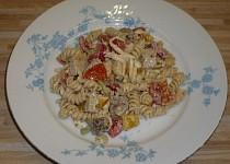 Těstovinový salát (rychlovka)