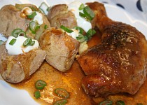 Voňavé medové kuře