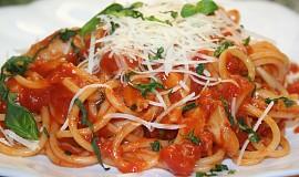 Wenouškovy špagety s kuřecím masem