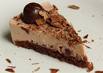 Griotkový mascarponový dort