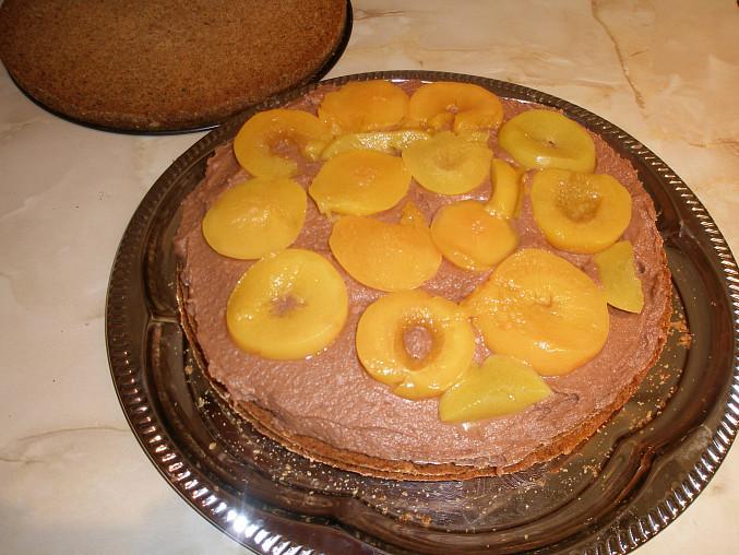 Jablečný dort s  medem a skořicí