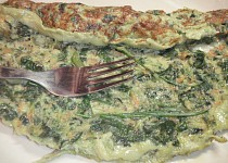 Jarní zeleninová omeleta