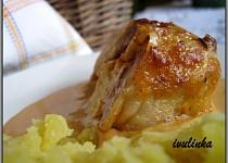 Kuřecí stehýnka plněná Hermelínem