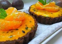 Mascarpone koláčky s exotickým přelivem