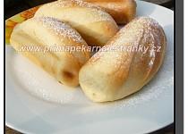 Mléčné francouzské houstičky