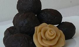 """""""Orientální manželství čokolády s pomerančem"""" Čokoládovo-pomerančové pralinky"""