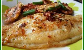 Pangasius v česnekové pastě