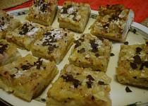 Rybízový koláč s mandlemi