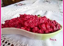 Salát z červené řepy s Nivou