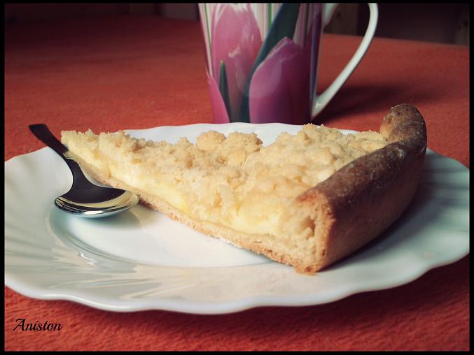 Tvarohový koláč - kynutý bez kynutí