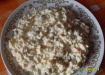Vajíčkový salát se šunkou