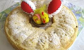 Velikonoční věnec bez lepku, mléka a vajec