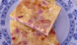 Lotrinský koláč z listového těsta