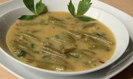 Polévka z fazolkových lusků