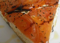Rajský koláč s tvarohem