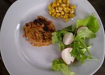 Sojové / seitan / ROBI steaky v hořčičné marinádě - vegan