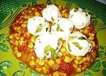 Tvarohovo-mangoldové kuličky na zelenině