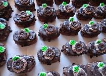 Zákusky plné čokolády