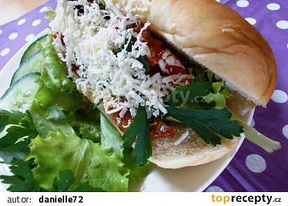 Zeleninový hotdog
