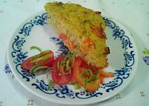 Bezlepkový zeleninový nákyp z quinoi
