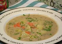 Bramborová polévka z jednoho hrnce