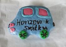 Dort autíčko pro Honzu k svátku