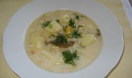 Fazolková francouzská polévka