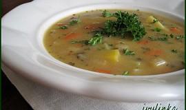 Kedlubnová polévka s máslovou jíškou