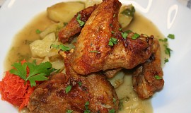 Paliva kureci kridelka ( hot chicken wings )