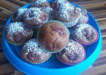 Perníkové muffinky s třešněmi