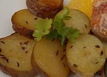 Sádlové brambory v pečicím sáčku