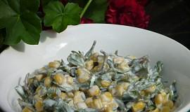 Salát z kukuřice a šruchy zelné