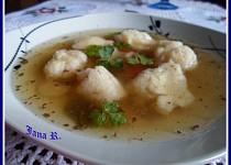Zázvorové nočky do polévky