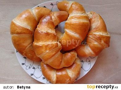 Croissanty s jednoduchou přípravou