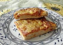 Domácí pizza a la mixér