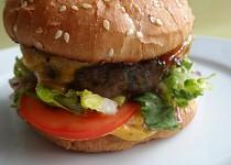 Hovězí grill-burger