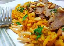 Hovězí s voňavou rýží po arabsku