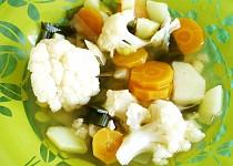 Letní zeleninová polévka