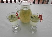 Osvěžující angreštový nápoj