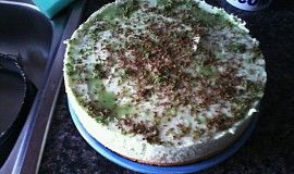 Slaďoučký dortík má pistácie