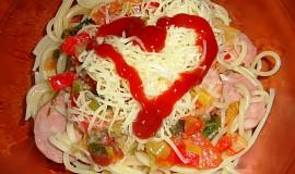 Špagety trochu jinak - nejen letní verze