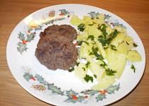 Biftečky z mletého masa